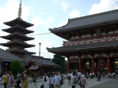 asakusa sensoji temple Travel To Tokyo   Top 10 Best Places