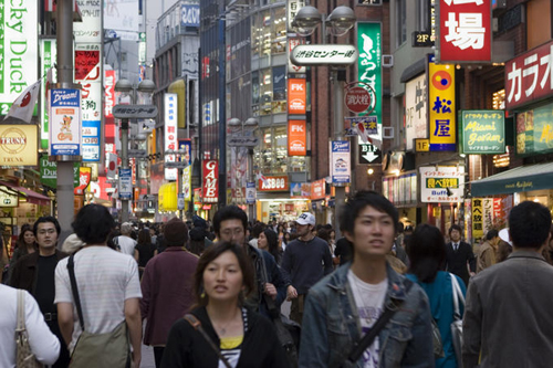 crowded street of shibuya Travel To Tokyo   Top 10 Best Places