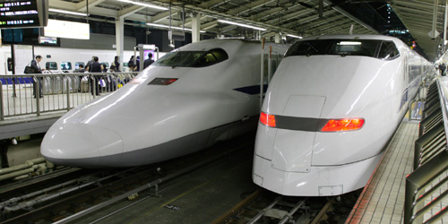 japan bullet trains Travel To Japan   Top 10 Best Places