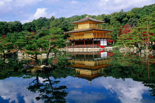 kinkakuji temple kinkaku golden pavilion Travel To Kyoto   Top 10 Best Places