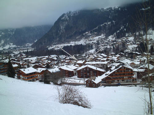 beautiful chalet in a town called morzine in the french alps france Travel To France   Top 10 Best Places