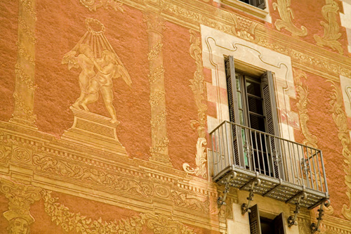 detailed building facade casa del gremi dels veiers la ribera district Travel To Spain   Top 10 Best Places