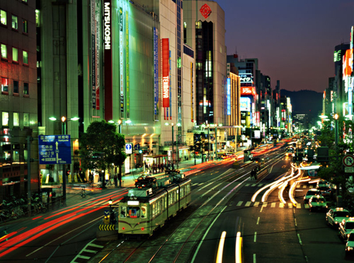 hiroshima at night Travel To Hiroshima   Top 5 Best Places