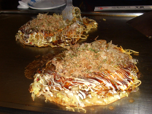 hiroshima styled okonomiyaki Travel To Hiroshima   Top 5 Best Places