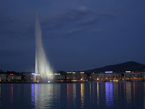 jet deau is a large fountain in lake geneva switzerland it is one of the largest fountains in the world as well as one of the citys most famous landmarks Travel To Switzerland   Top 10 Best Places