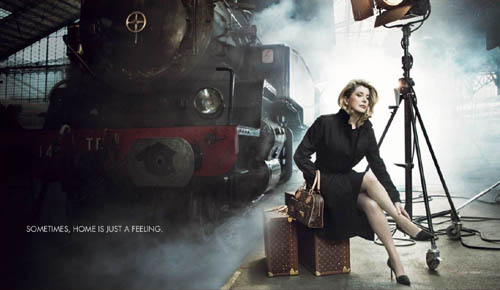 louis vuitton is a french fashion label that drives the girls from all over the world crazy photo is one of its famous print ads Travel To France   Top 10 Best Places