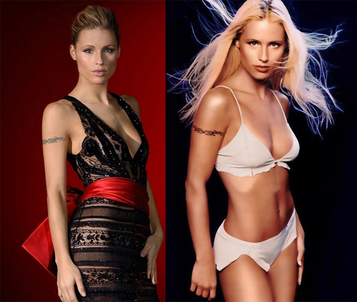 michelle hunziker is a swiss actress model singer and a famous personality on italian and german television Travel To Switzerland   Top 10 Best Places