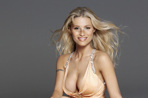 michelle hunziker is also the representative of the hot swiss girls with a big pair of ahem Travel To Switzerland   Top 10 Best Places