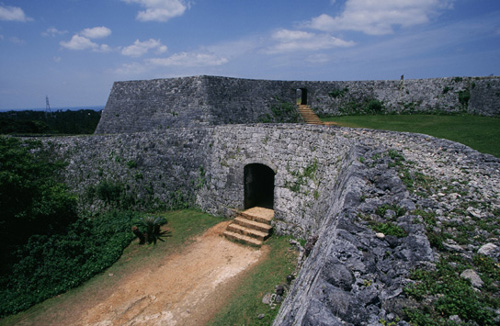 Nakagusuku Castle  site shows beautiful ruins of a former Ryukyu castle