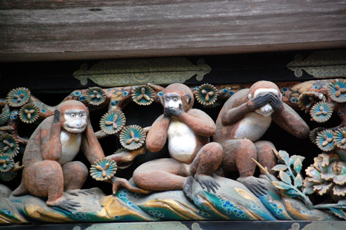 nikko toshogu three wise monkeys who hear speak and see no evil a traditional symbol in chinese and japanese culture Travel To Nikko   Top 6 Best Places