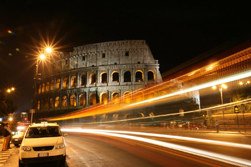 roman colosseum at night it is one of the worlds most recognized landmark and the most enduring symbol of italy Travel To Italy   Top 10 Best Places