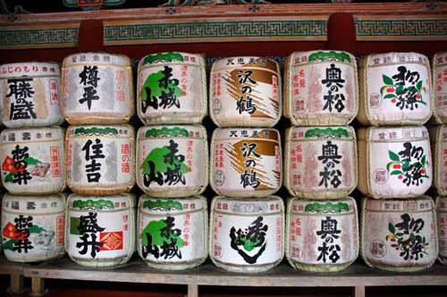 sake barrels at nikko toshogu shrine Travel To Nikko   Top 6 Best Places