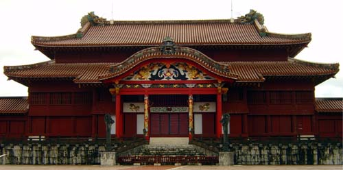 the magnificence of Shuri Castle stands the challenge of time
