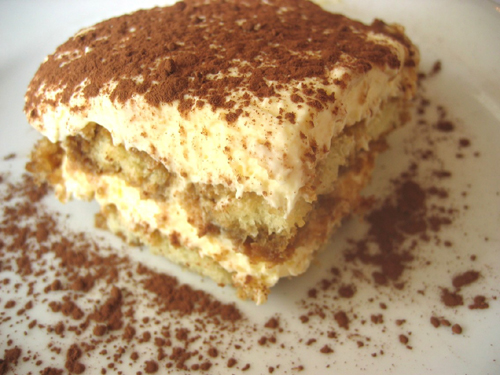 Tiramisu is the popular Italian cake that picks you up when you bite it.