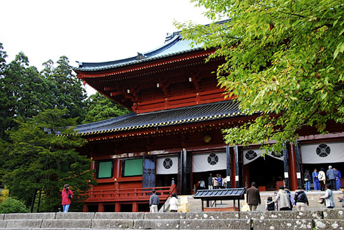 visitors are approaching sanbutsudo of the rinnoji temple of nikko japan Travel To Nikko   Top 6 Best Places