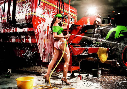 a sexy german girl washing the big machine at the backdrop emulates that hot eat burger while washing car paris hilton dont think so german girls rock Travel To Germany   Top 10 Best Places