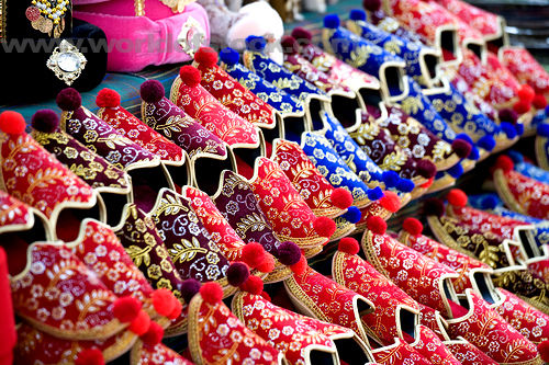 be spellbound by a street vendor display of colourful tasseled turkish slippers at sultanahmet istanbul turkey Travel To Turkey   Top 10 Best Places