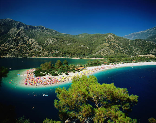 Clear blue waters by Fethiye coast are the hidden treasures in Turkey for nature lovers.