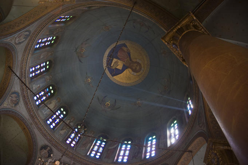 domed interior coptic cairo Travel To Egypt   Top 10 Best Places
