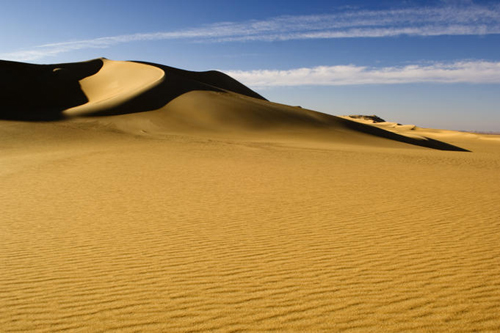 dunes in the great sand sea western desert near siwa oasis Travel To Egypt   Top 10 Best Places