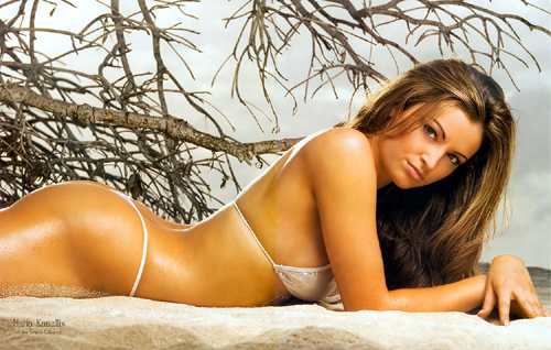 Greek girls hot for bid! The first will be Maria Kanellis