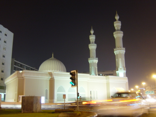 Jumeirah Mosque on Beach Road, Dubai, United Arab Emirates (UAE)