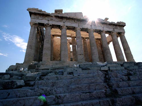 Parthenon is what defines Athens, Greece