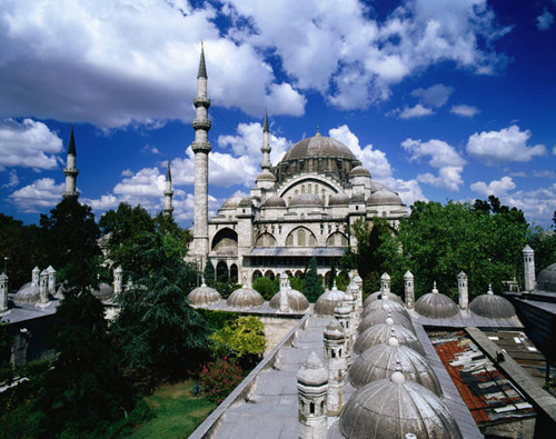 Suleymaniye Mosque is one of the most gorgeous mosques in the world.