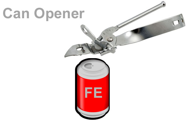 Open A Soda Can Without Tab