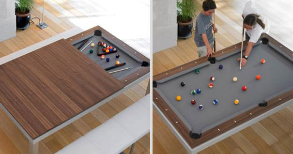 dinning pool table