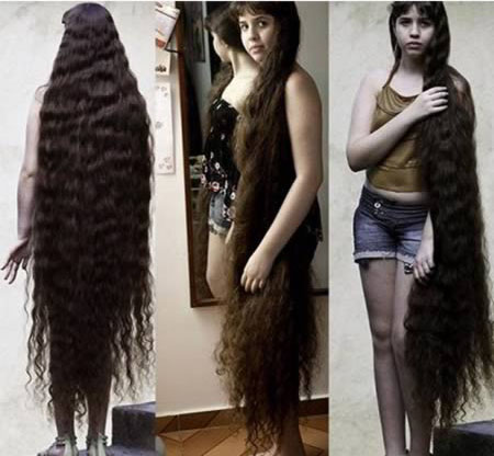 Natasha Moraes long hair