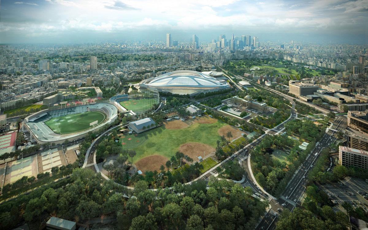 2020 Olympic Stadium