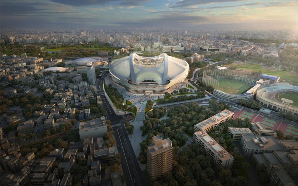2020 Tokyo Olympic stadium