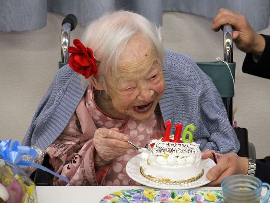 Misao Okawa oldest living person