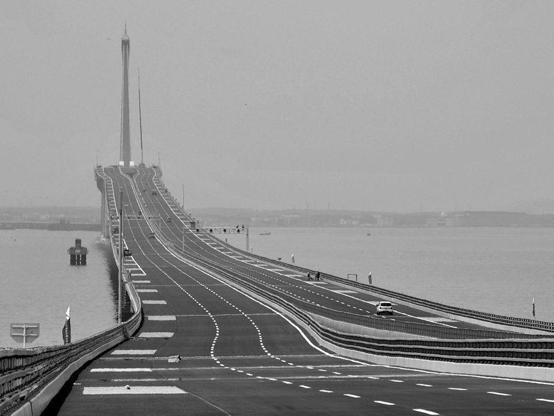 Jiaozhou bay bridge china