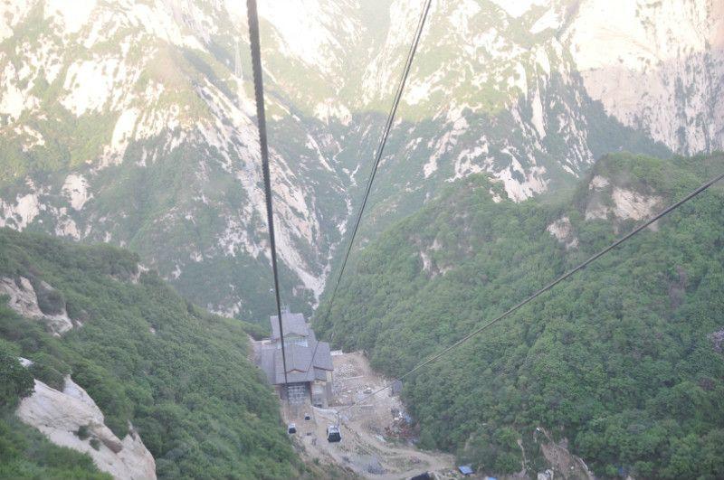 mount Huashan gondola