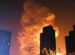 13 Unseen Photos Of China Tianjin Explosions. #8 Is Shocking!