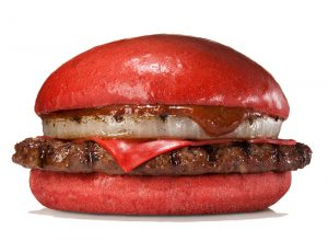 The Weirdest Burger Should Be This Red Burger From Burger King Japan
