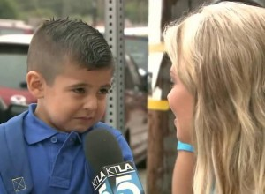 This Reporter Asked A 4-Year-Old Preschooler A Question, He Paused A Second And Began To Tear Up